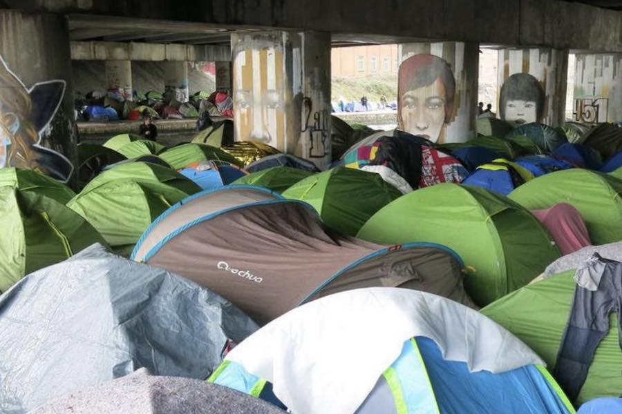 Zlikwidowano nielegalny obóz migrantów w Paryżu