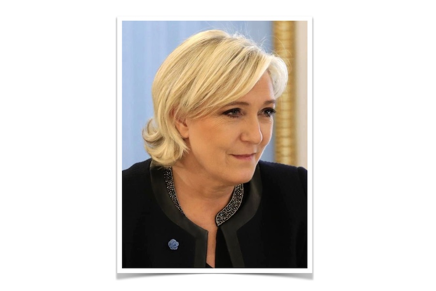 Marine Le Pen po raz czwarty wybrana na szefową Zjednoczenia Narodowego