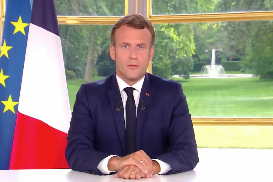 Emmanuel Macron przedstawił harmonogram znoszenia ograniczeń związanych z koronawirusem