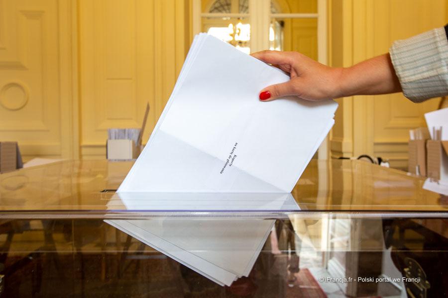 Wybory prezydenckie 2020. Wyniki obwodów głosowania we Francji – Frekwencja 76,35%