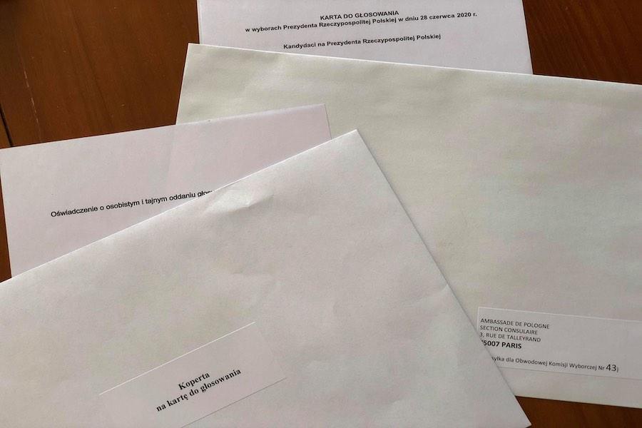 Informacja dotycząca II tury wyborów Prezydenta Rzeczypospolitej Polskiej w 2020 r. we Francji (obwody paryskie)