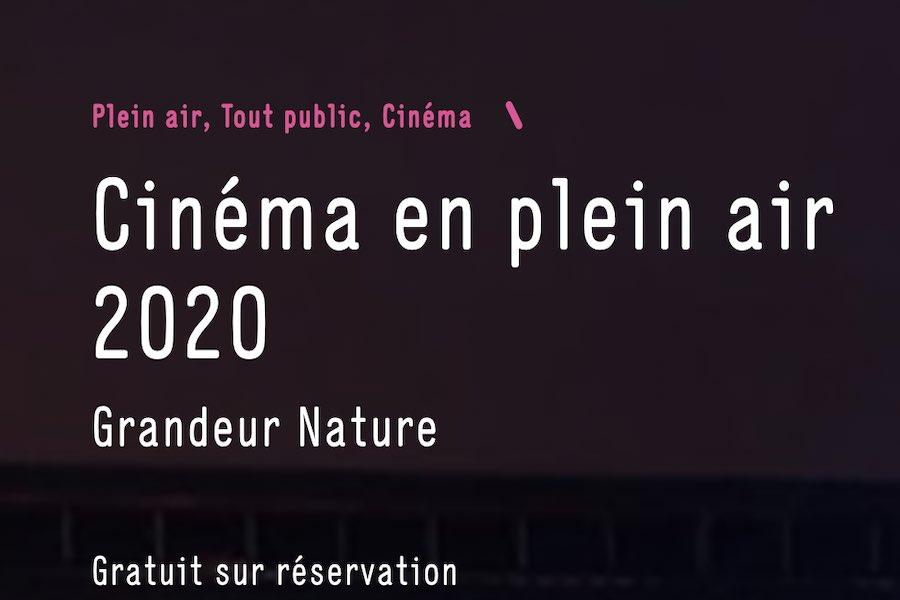 Kino pod chmurką w parku la Villette