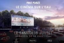 Wyjątkowy seans filmowy na wodzie w Paryżu