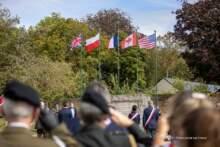 Uroczystości  upamiętniające udział polskich żołnierzy z 1. Dywizji Pancernej dowodzonej przez gen. Stanisława Maczka