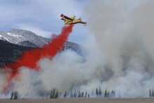 Pożar na południu kraju zatrzymany, ale nie ugaszony