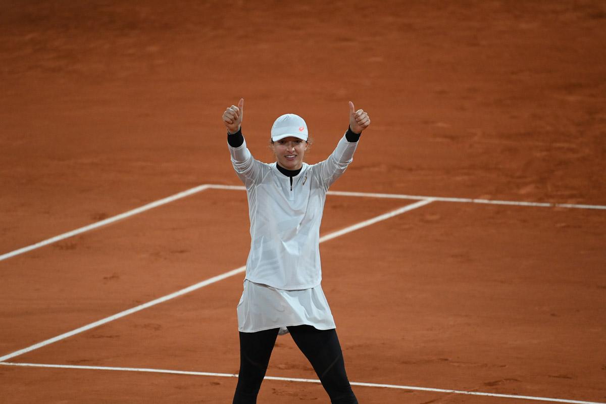 Iga Świątek w półfinale Roland Garros