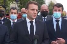 Macron o pożarze na Lazurowym Wybrzeżu: przesądzą najbliższe godziny