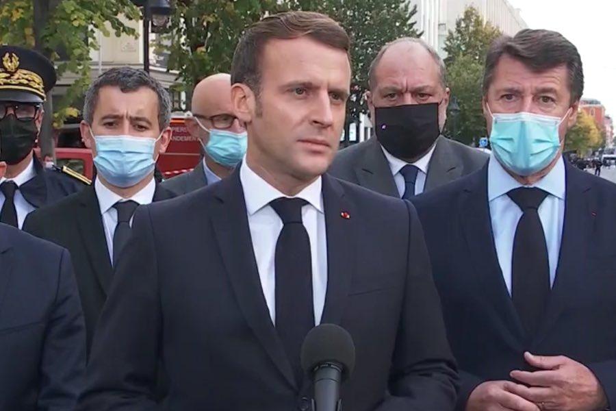 Macron: Francja jest celem ataków, nie ugniemy się przed islamistycznym terroryzmem