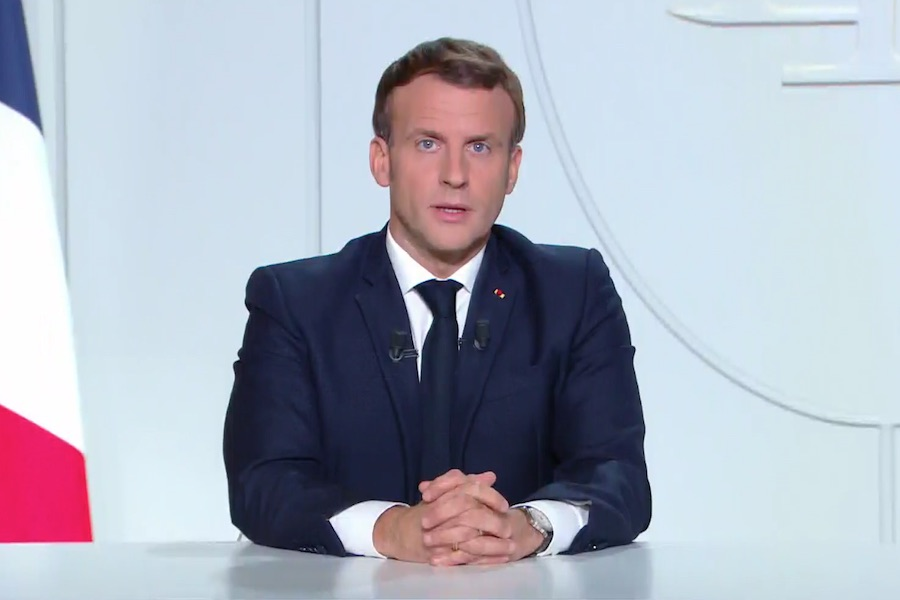 Macron: lockdown zostanie rozszerzony na cały kraj