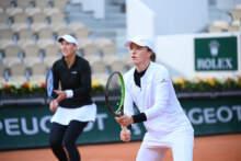 Iga Świątek przegrała w półfinale debla w turnieju Roland Garrosa