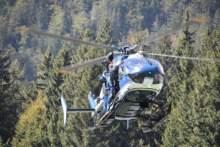 W pobliżu Grenoble rozbił się śmigłowiec, zginęła jedna osoba