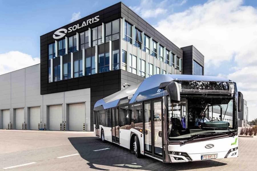 RATP rozpoczyna testy autobusu wodorowego od Solarisa