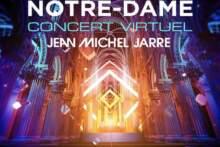 Wirtualny koncert sylwestrowy Jean-Michela Jarre'a w katedrze Notre Dame na żywo