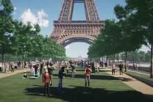 Oto jak w przyszłości wyglądać będzie teren wokół wieży Eiffla