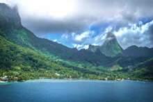 Gwiazda Pacyfiku (Tahiti i jej płetwa grzbietowa)