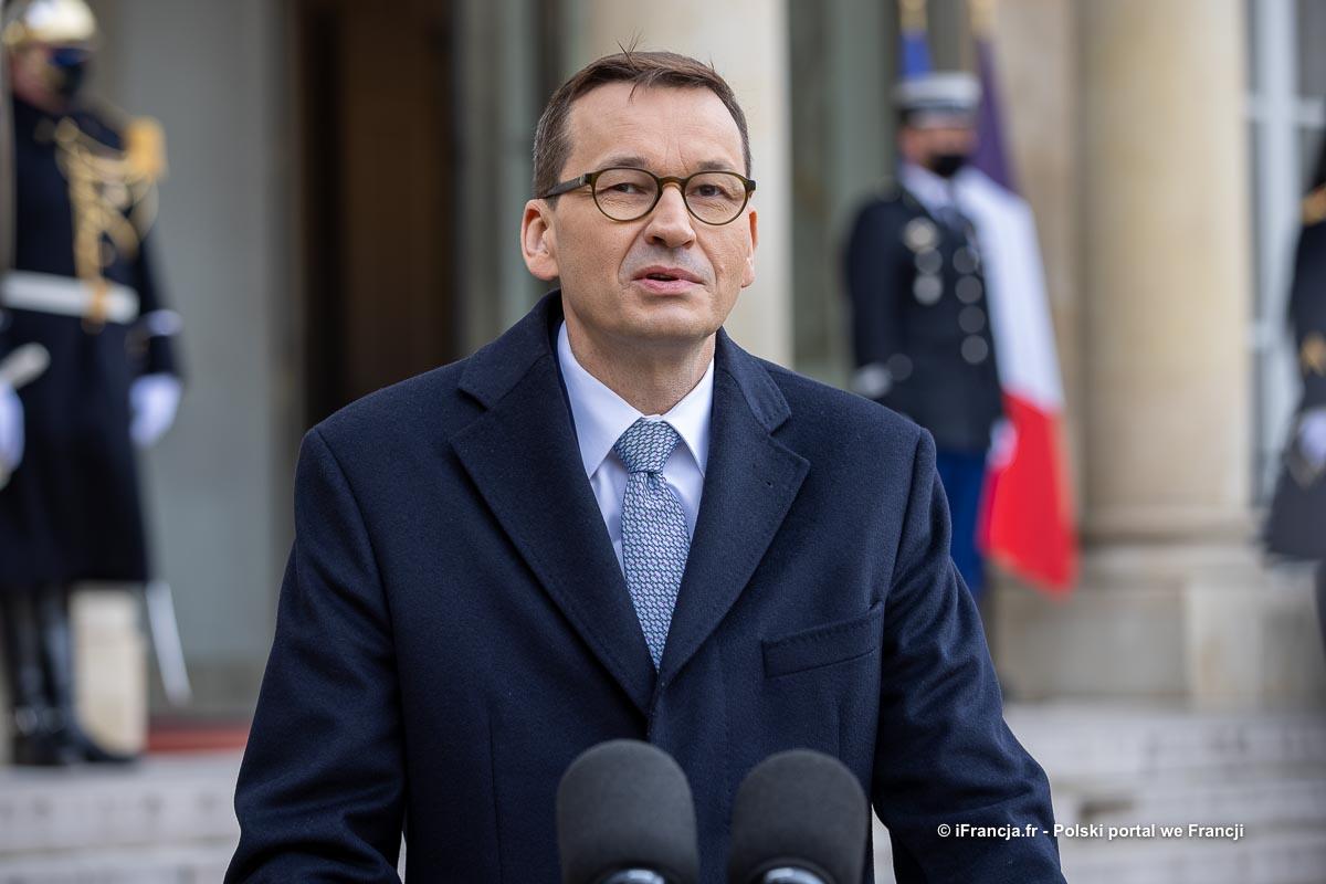 Premier Morawiecki spotkał się z przedstawicielami Francuskiego Związku Pracodawców