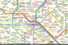 Niezwykła mapa wzorowana na mapie paryskiego metra na pomoc światu kultury i sztuki
