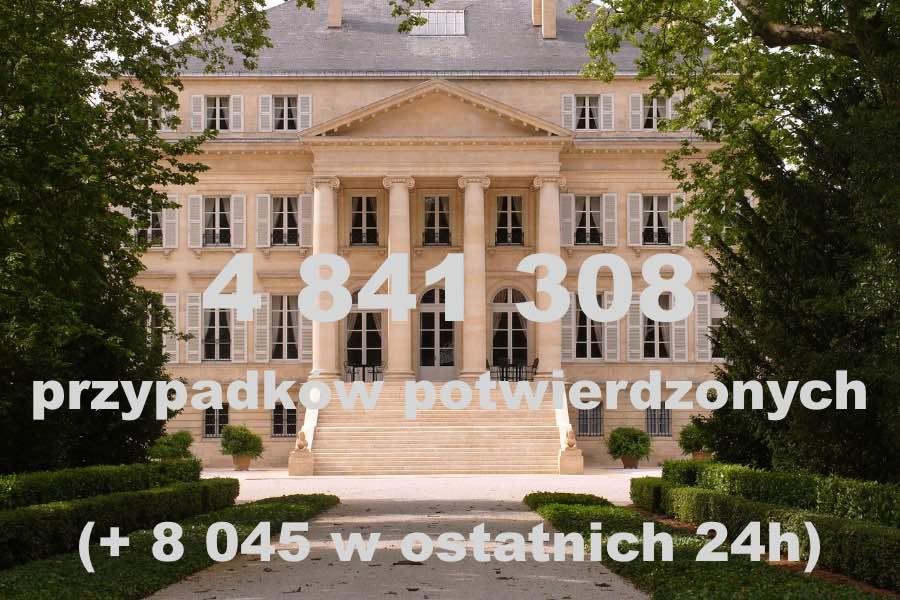 Wtorek, 6 kwietnia: Najnowszy bilans koronawirusa we Francji