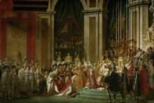 Tkaninę z krwią Napoleona można będzie kupić na aukcji