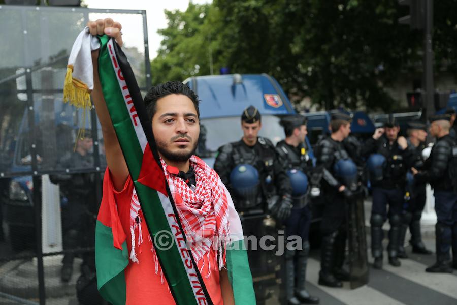 """We Francji obawa przed """"importem konfliktu"""" izraelsko-palestyńskiego"""