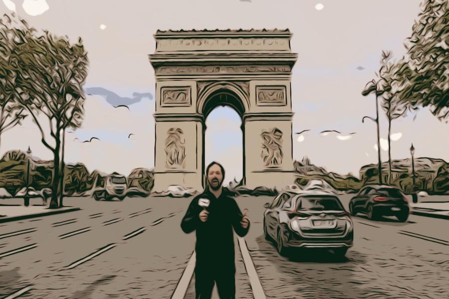 Przewodnik po Francji – Łuk Triumfalny