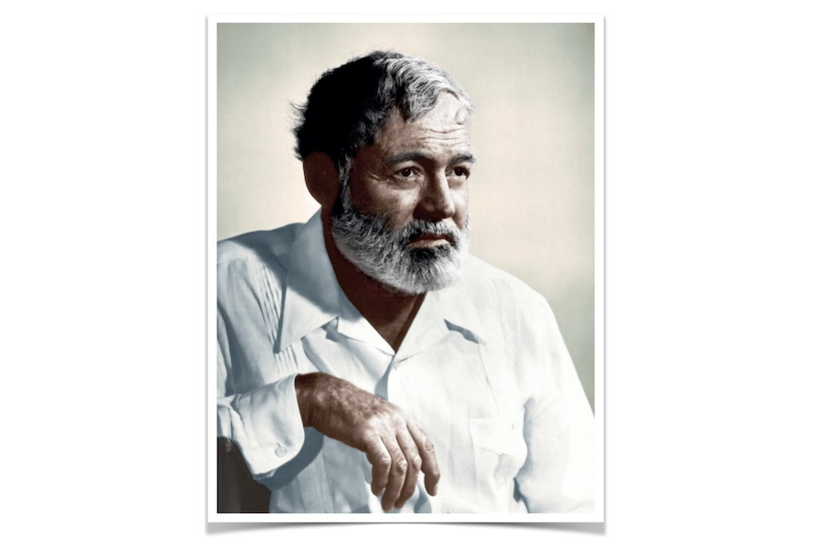 Hemingway w cieniu Saturna