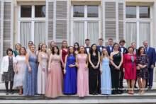 Bal pomaturalny uczniów liceum Montaigne w Ambasadzie RP w Paryżu