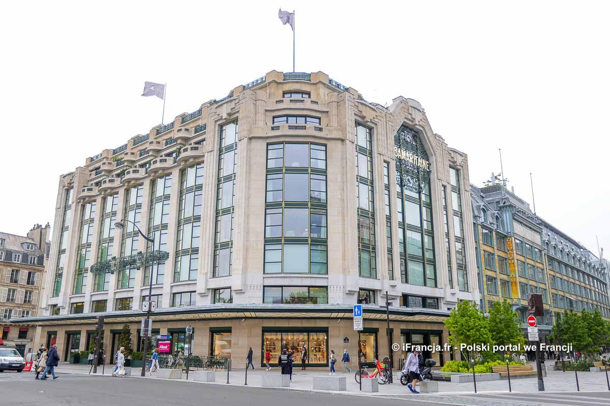 Uroczyste otwarcie galerii handlowej La Samaritaine