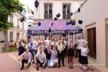 Uroczystości zakończenia roku szkolnego w Szkole Polskiej im. Adama Mickiewicza w Paryżu