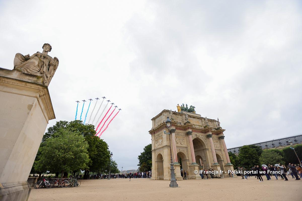 Po roku przerwy tysiące żołnierzy znów przemaszerowało przez Paryż z okazji Dnia Bastylii