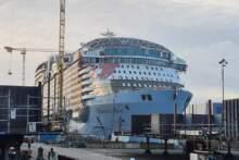 Największy statek pasażerski na świecie wypłynął ze stoczni w Saint-Nazaire