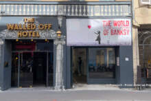 Wystawa dzieł Banksy'ego w Paryżu