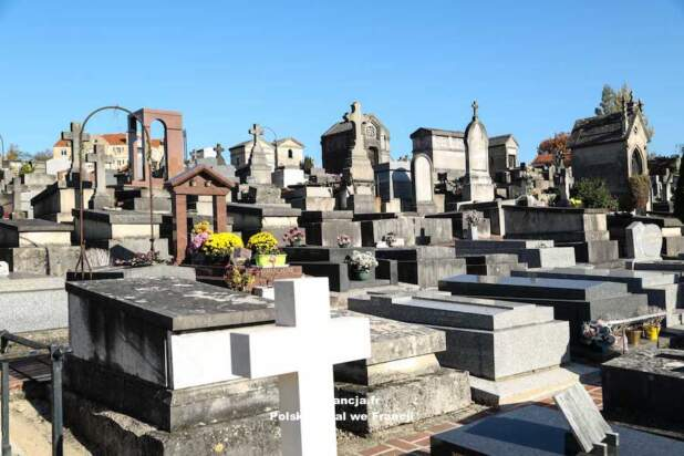 Jarosław Sellin złożył wieniec na grobie Cypriana Kamila Norwida w Montmorency