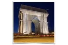 Opakowany Łuk Triumfalny: Plac Gwiazdy zamknięty dla ruchu samochodowego przez trzy kolejne weekendy