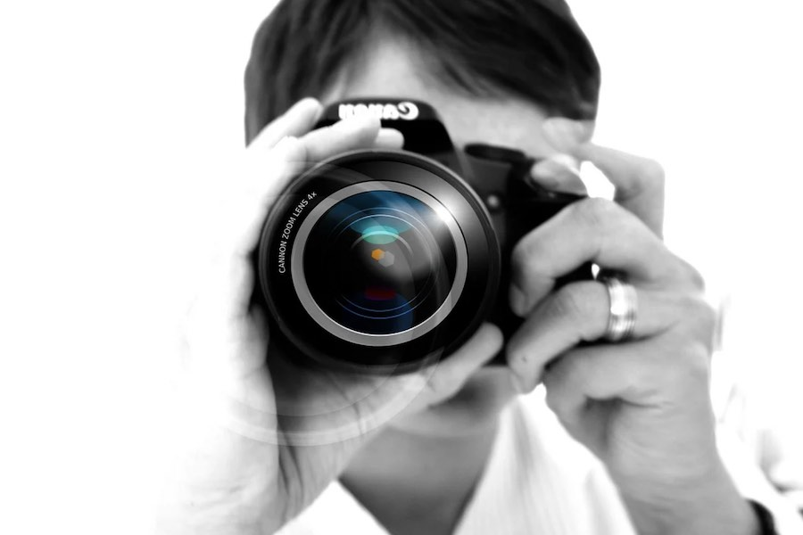 Fotograf w Paryżu
